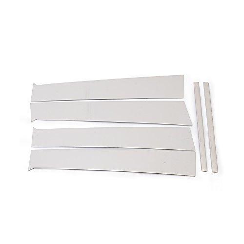 Fenster B C Säulen Post Trim Kits für Nissan Versa 2012–2015Limousine 4doors Edelstahl 6pcs/set