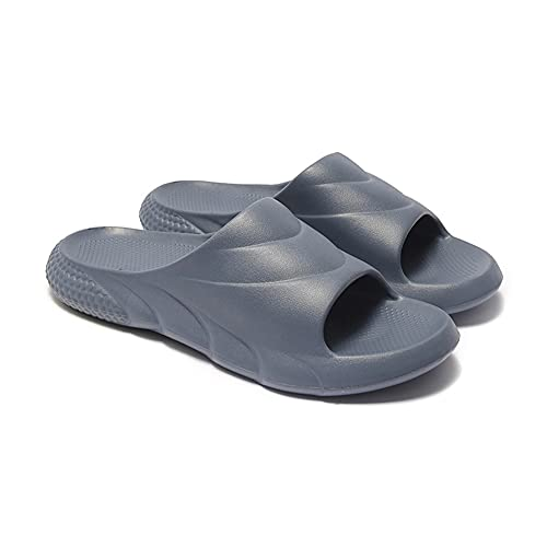 Chanclas Y Sandalias Piscina Zapatillas Beach Flip Flops Pool Slides Zapatos Casual Calzado Deportivo Aire Libre Vestir Slippers Hombre EVA Cómodo Respirable Luz Suave Antideslizante (42,Azul)