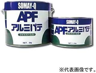 染めQテクノロジィ アルミパテ ファイバー入 耐熱温度150℃ 内容量3kg アルミパテファイバーイリ3kg