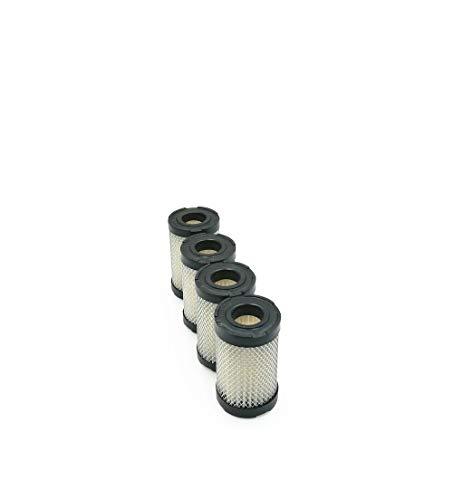 MOWFILL 4 Pack 35066 Air Filter Replace for Tecumseh 740019B 740095 Craftsman 33342 63087A Lesco 050128 Fits Tecumseh ECV100 LEV90 LEV100 LEV115 OVRM60 TC300, ECV, LEV115, ECV120, H30, 35 & TVS