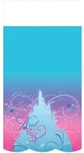 venta directa de fábrica Ariel the Little Mermaid Sparkle Plastic Table Cover Cover Cover (1ct) by Fiesta  el mejor servicio post-venta