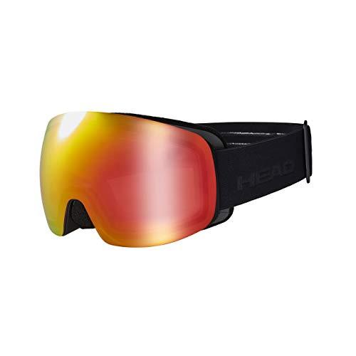 Head Galactic FMR Gafas de esqui, Unisex adultos, Amarillo/ Rojo, Talla Unica
