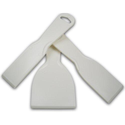 Meyco Hobby Kunststoff-spachtel 3er Set Plastik-Spachtel Grill-Schaber - Spatel