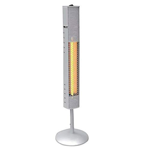 DIDIAN Patio Heater,800W Electric Infrared Outdoor Heaters,Vertical Aluminum Infrared Heat Lamps,Indoor Outdoor Garden Heater,110V-220v 21x21x75cm(8x8x30inch)