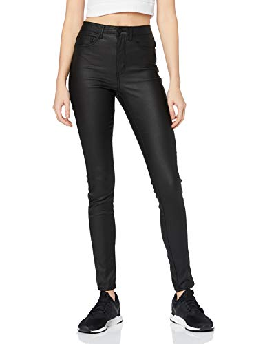 ONLY Damen Skinny Jeans Onlroyal Reg Sk Dnm Jeans 101, Black, Large (Herstellergröße: Large)