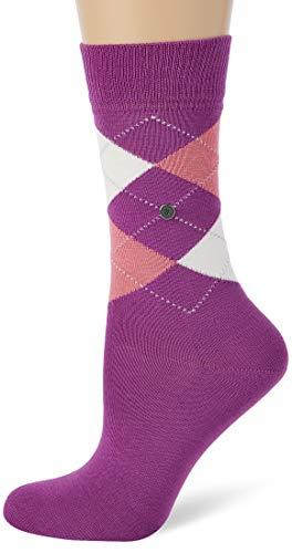 BURLINGTON Damen Socken Covent Garden - 80prozent Baumwolle, 1 Paar, Violett (Galaxy Purple 8317), Größe: 36-41