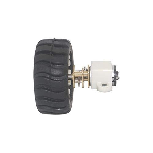 F-MINGNIAN-TOOL, Miniatur-Motoren für Spielzeug mit festem Rahmen für Kupplungsmutter aus Kunststoff Rad Kit für Basteln Spielzeug Roboter Arduino, 3000 U/min, 12V