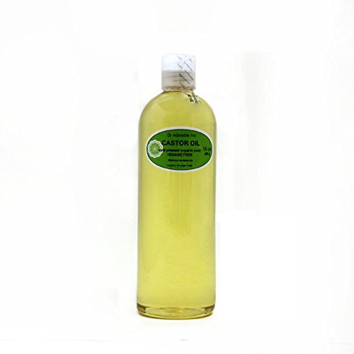 Organic Pure Carrier Oils Cold Pressed 16 Oz/1 Pint (Castor Oil)
