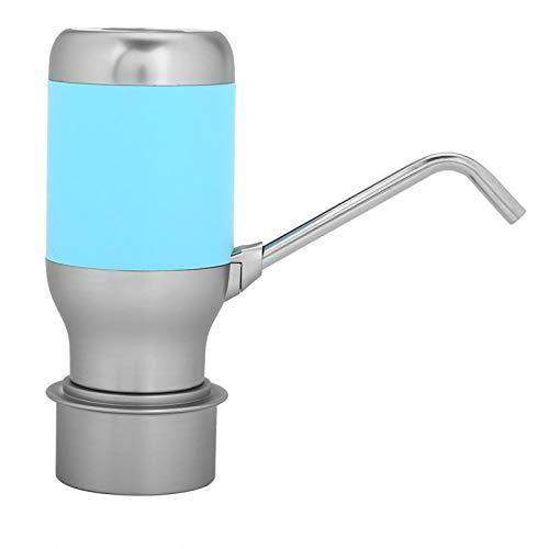 Surebuy Dispensador de Agua de Bomba de Botella de Agua Recargable USB para Oficina para el hogar(Blue)