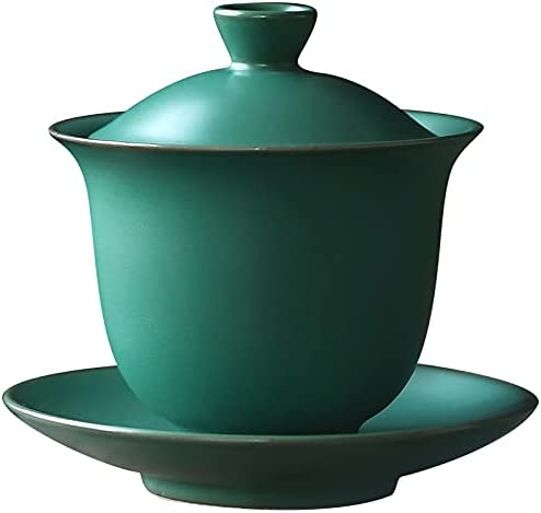 Cash special price SH729 160ML Japanese A surprise price is realized Style Retro Gaiwan Ceramic Coarse Pottery K