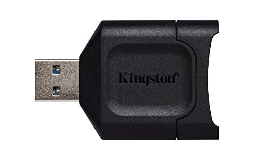 Kingston MobileLite Plus (MLP) Lector de tarjetas SD USB 3.1 SDHC/SDXC UHS-II