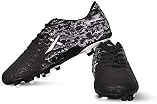 Vector X Turbo Football Shoes (Black-White)
