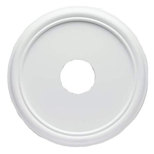 Westinghouse Lighting 77732 Rosetón para techo con acabado blanco liso 40,6 cm