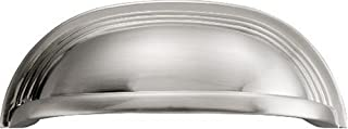 Hickory Hardware P3104-SN 96 mm Deco Pull, Satin Nickel