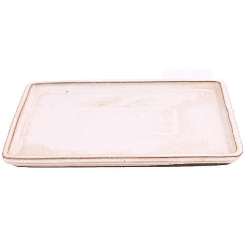 Bonsai 53311 Dessous de Verre carré Crème 27 x 20,5 cm