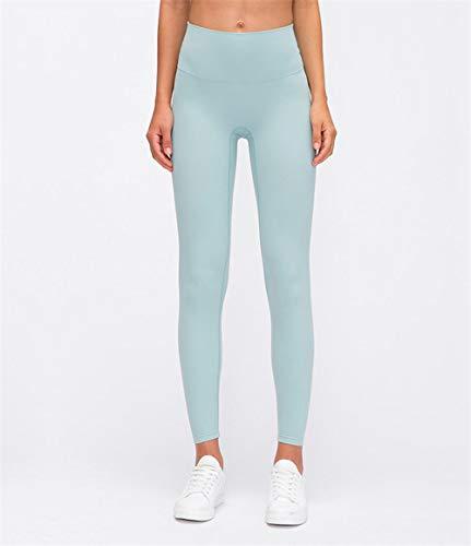Pantalones Capris Pantalones Medias Elásticas,Pantalones de Yoga Deportivos de Cintura Alta y Cadera para Mujer-I_L,Yoga con Gran Elásticos Pantalones Deportivos