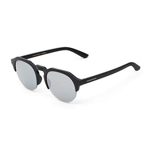HAWKERS Warwick Gafas de sol, Carbon Black Chrome, One Size Unisex-Adult