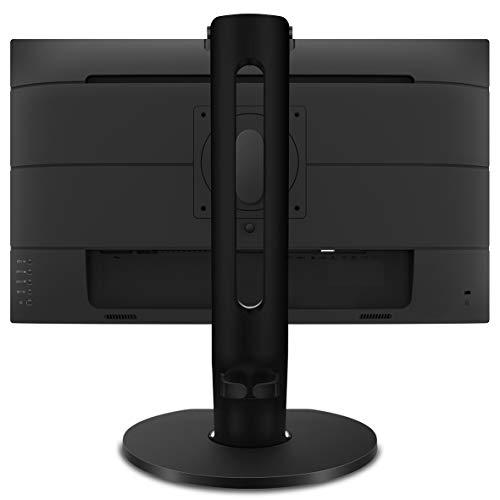 Philips Monitors 329P9H - 32 Zoll UHD USB-C Docking Monitor, Webcam, höhenverstellbar (3840x2160, 60 Hz, HDMI 2.0, DisplayPort, USB-C, RJ45, USB Hub) schwarz, schwarzsilber, 32 Zoll 4K