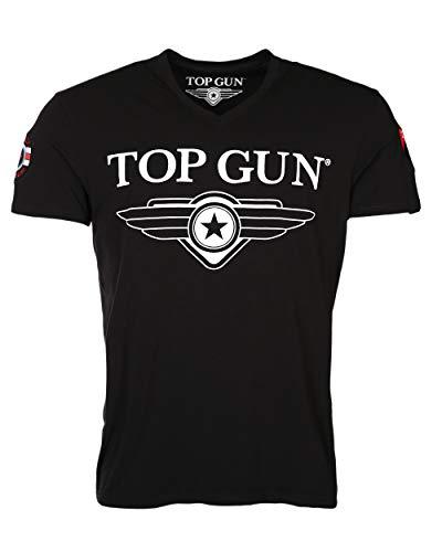 Top Gun Hyper Black T-Shirts (XL)