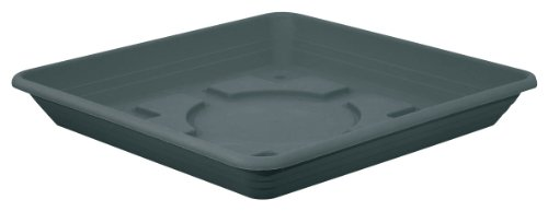 geli Thermo Plastic Untersetzer NORA quadratisch aus Kunststoff, Farbe:anthrazit, Größe:50 x 50 cm