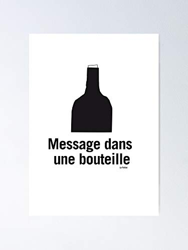 Message in A Bottle Poster - Best Gift for Your Parent and Peoples, Decorate Room. No Frame Board, 12.75' X 17'