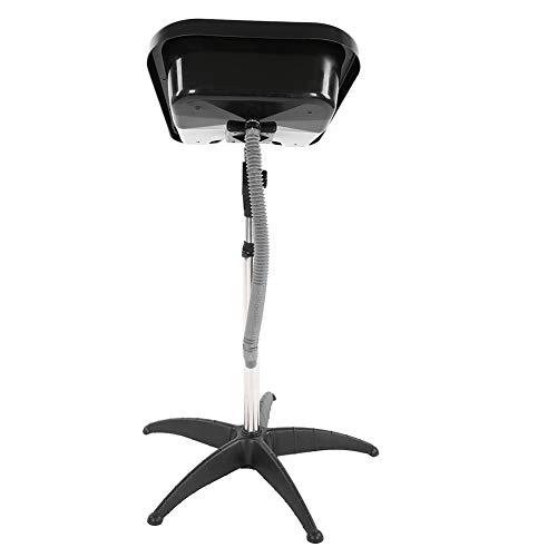 Portable Adjustable Height Hair Basin Barber Salon Deep Bowl Plastic Shampoo...