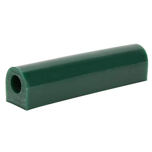 GAESHOW Wachsring Rohrform Grün Glatt Hochwertige Schnitzerei Schmuckherstellung Verarbeitungswerkzeug Grün