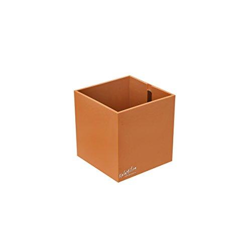 Sgaravatti KalaMitica Cube, Pot Magnétique, Ø 9 cm, Abricot