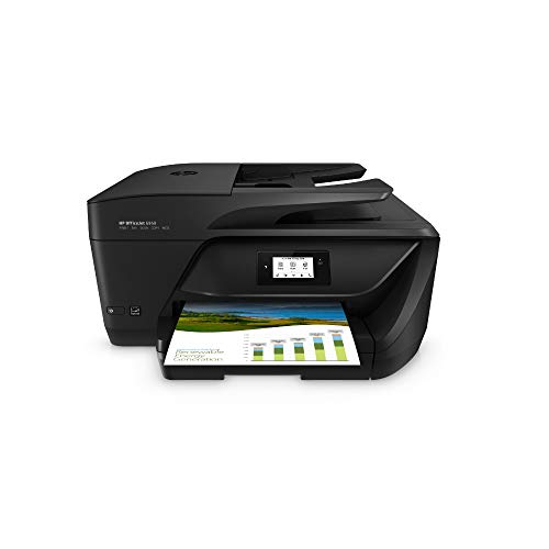 HP Officejet 6950 Multifunktionsdrucker (Drucker, Scanner, Kopierer, Faxen, HP Instant Ink, Duplex, WLAN, HP ePrint, Apple Airprint, USB, 600 x 1.200 dpi) schwarz