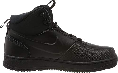 Nike Herren Path WNTR Basketballschuhe, Mehrfarbig (Black/Black-MTLC Pewter 001), 44.5 EU