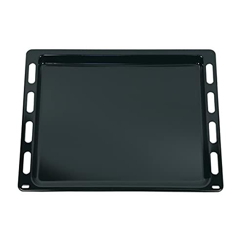 Bandeja de horno original Bosch Siemens Viva 00748225 748225, bandeja de horno para tartas y pizzas, 442 x 370 mm