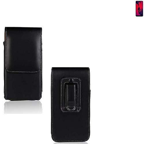 K-S-Trade® Für Huawei P20 Pro Dual-SIM Holster Gürtel Tasche Gürteltasche Schutzhülle Handy Tasche Schutz Hülle Handytasche Smartphone Hülle Seitentasche Vertikaltasche Etui Belt Bag Schwarz Für