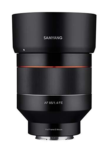 Samyang SYIO85AF-E 85 mm F1.4 Autofokus-Objektiv für Sony E-Mount