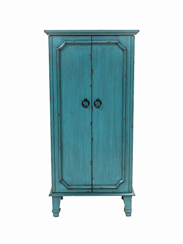 Hives and Honey Cabby Fully Locking Jewelry Armoire, 40