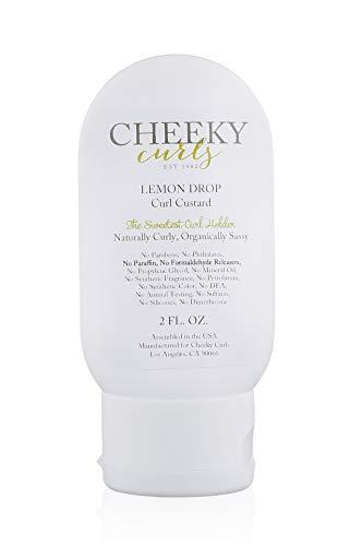 Price comparison product image Cheeky Curls - Natural Hair Care Product - Lemon Drop Curl Custard Gel 2 oz.