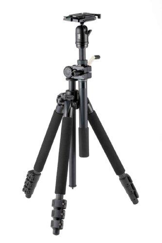 Velbon 三脚 VS-5400Q 4段 レバーロック 脚径25mm 中型 自由雲台 V4-unit付 クイックシュー対応 カーボン脚...