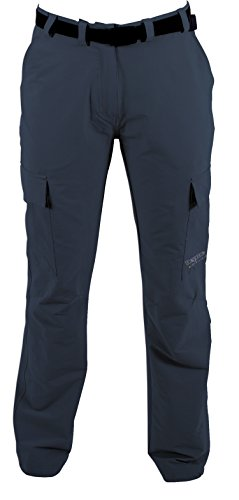 DEPROC-Active Trekking Femme Pantalon Outdoor Kenora 4 Voies Power Stretch 38 Gris - Anthrazit