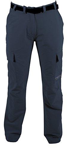 DEPROC-Active Trekking Femme Pantalon Outdoor Kenora 4 Voies Power Stretch 38 Gris - Anthrazit
