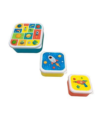 Set 3 Tapers Lunch Galaxia - Taper Niños Infantiles, colegios. Regalos y Detalles para Niños, Cumpleaños y Comuniones
