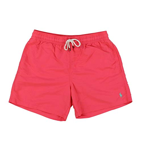 Polo Ralph Lauren Mens Bathing Suit Bottoms (Small, Nantucket Red)