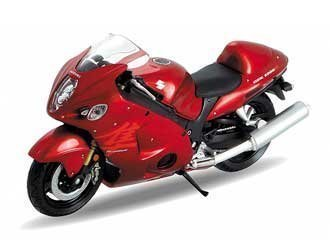 Suzuki Hayabusa Diecast Model Motorcycle