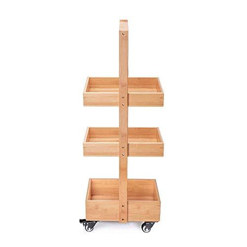 HIZLJJ Rack de cocina de 3 niveles Utilidad for microondas Horno de microondas Soporte de almacenamiento Estante de estación de trabajo Estante de baño Rack de almacenamiento multifuncional de hendidu