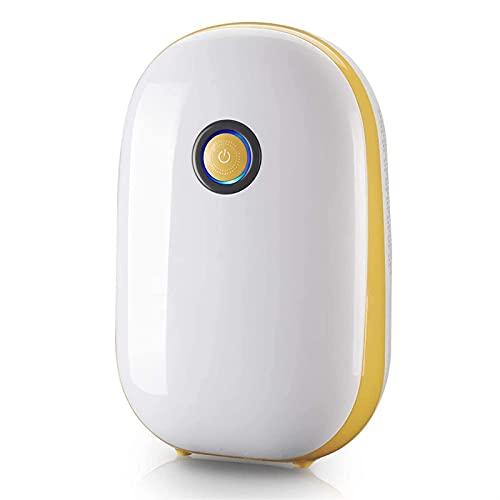 XTZJ Deumidificatore Small Deumidificatori per la casa 2200 piedi cubici (260 mq), portatile e compatto 35 oz capacità deumidificatori silenziosi per scantinati, camera da letto, bagno, camper, armadi