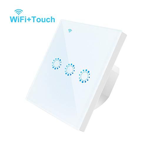 KIODS Light Strip EU standaard Touch Panel Touch-Panel schakelaar 90V-250V De afstandsbediening werkt met Alexa