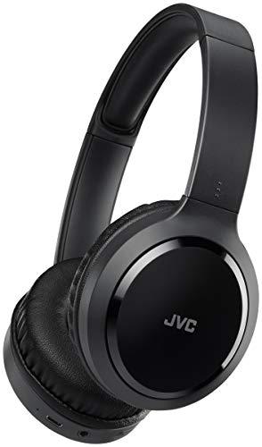 JVC HA-S60BT-B-E Diadema Binaural Inalámbrico y Alámbrico Negro - Auriculares (Inalámbrico y Alámbrico, Diadema, Binaural, Circumaural, 10-22000 Hz, Negro)