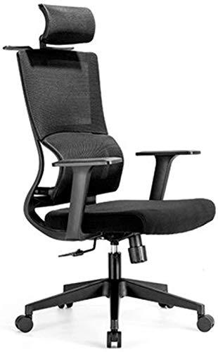 ZouYongKang Silla de Oficina para Silla de Escritorio, sillas de Escritorio de Oficina Altas, Soporte lumar, Silla de Oficina más cómoda, Silla de Escritorio de computadora Ajustable de Altura