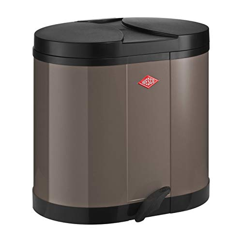 Wesco Öko-Sammler 170 - 2 x 15 Liter warm grey