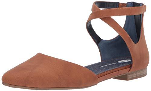 Dr. Scholl's Shoes Women's Adjustify Ballet Flat, Soft Saddle Smooth, 7 M US