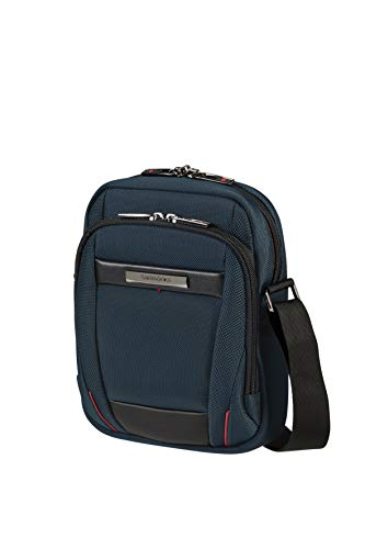 Samsonite Pro-DLX 5 - Tablet Crossover Small Bolsa bandolera para tablet 7.9 pulgadas (23 cm - 3 L), Azul (Oxford Blue)