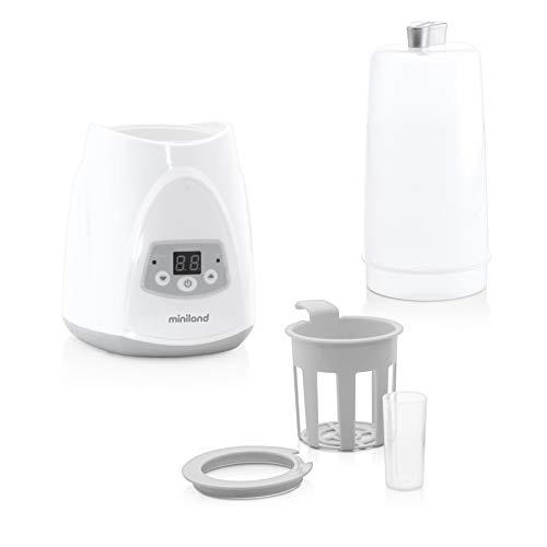 Flaschenwärmer und Sterilisator für Flaschen/Breigläser, Auftaufunktion, Ideal für Muttermilch - Warmyplus DIGY